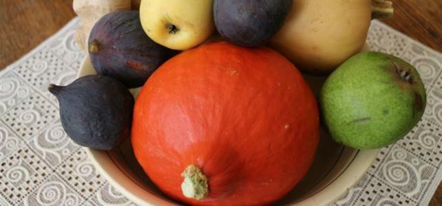 Herbstmenü gekrönt vom Kürbiskuchen