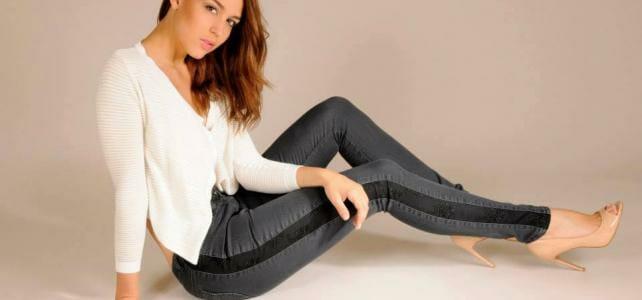 Spitzen-Jeans von Kathrin Ebel