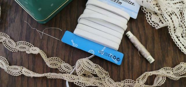 DIY – Ein Haarband aus Spitze