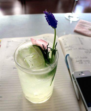 Spitzen-Rezept für Lavendel Gin Fizz