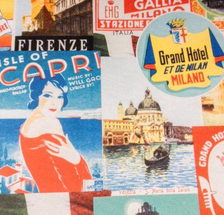 Der schöne Charme von Vintagepostkarten
