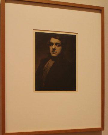 Selbstportrait von Karl Schenker aus dem Jahr 1915