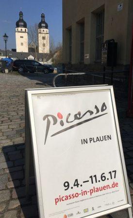 Picasso in Plauen - die Ausstellung rund um die 100 Radierungen der Suite Vollard im Malzhaus