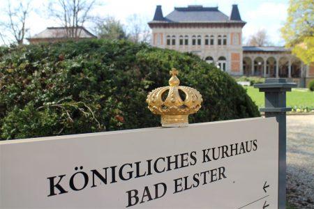 Spaziergang rund um Bad Elster – Kurhaus