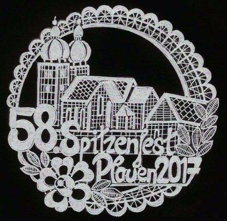 Plauen - Das Spitzenfestabzeichen 2017