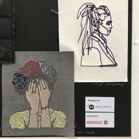 Spitze und Stickereien auf der Munich Fabric Start - Gunold Garn