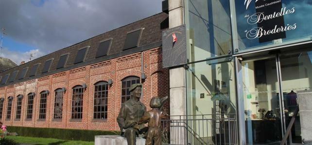 Französische Spitze im Musée des Dentelles et Broderies – dem Spitzenmuseum in Caudry