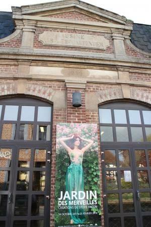 Das Spitzenmuseum in Caudry in Frankreich - französische Spitze