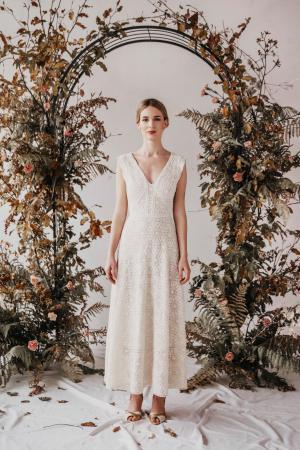 Yoora Studio Bratislava - nachhaltige Mode - Hochzeitskleider