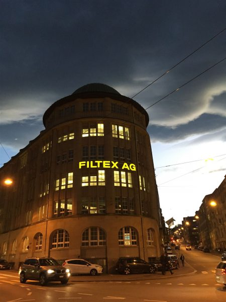 traditionsreiche Textilfirmen in st. Ballen - Im Bild die Filtex AG