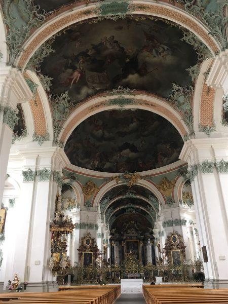 in der Stiftskirche von St. Gallen