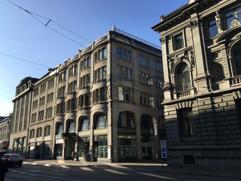 mondäne Jugenstil-Architektur prägt bis heute das Bild von St. Gallen