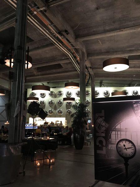 Restaurant in der Lokremise in St. Gallen