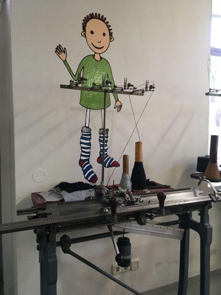 Textilmuseum - Esche Museum in Limbach-Oberfrohna in Sachsen - Kinderfreundliche Ausstellung